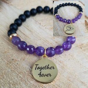 Together 4ever bracelet by Medium Jay Lane