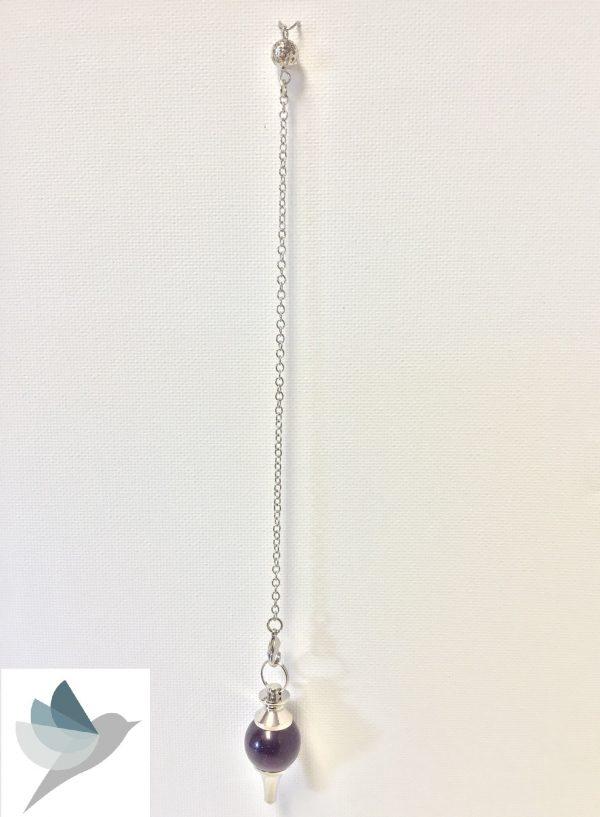 Amethyst Pendulum by Medium Jay Lane