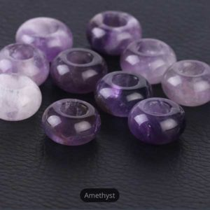 Amethyst Gemstone to add to your Custom Bracelet by Medium Jay Lane