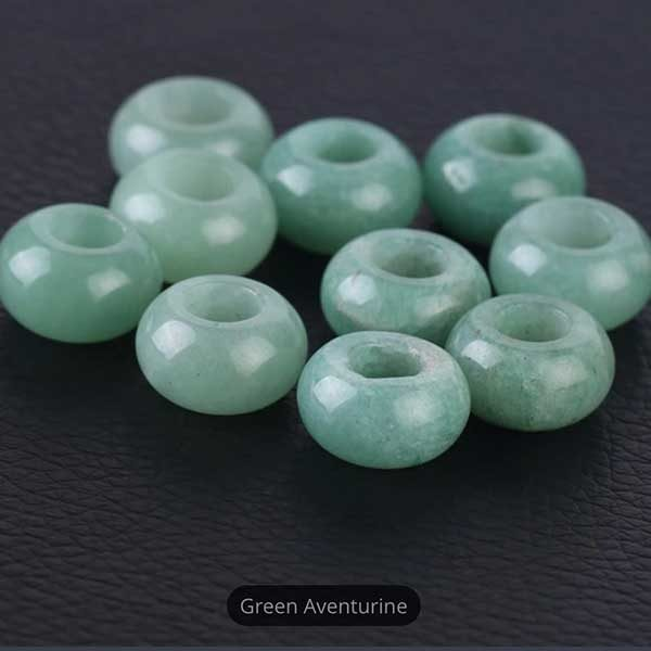 Green Aventurine Gemstone to add to your Custom Bracelet by Medium Jay Lane