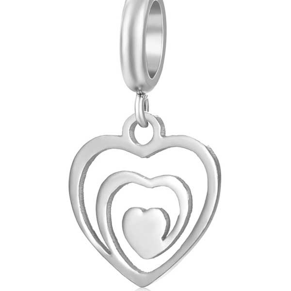 Heart Charm to add to your Custom Bracelet by Medium Jay Lane