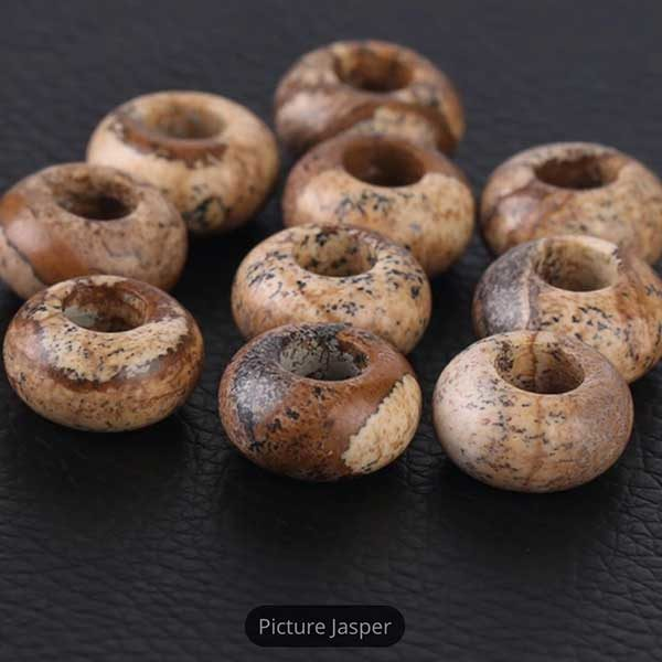 Picture Jasper Gemstone to add to your Custom Bracelet by Medium Jay Lane
