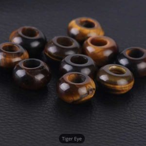 Tiger Eye Gemstone to add to your Custom Bracelet by Medium Jay Lane