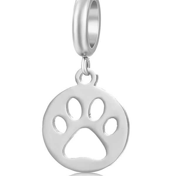 Paw Charm to add to your Custom Bracelet by Medium Jay Lane