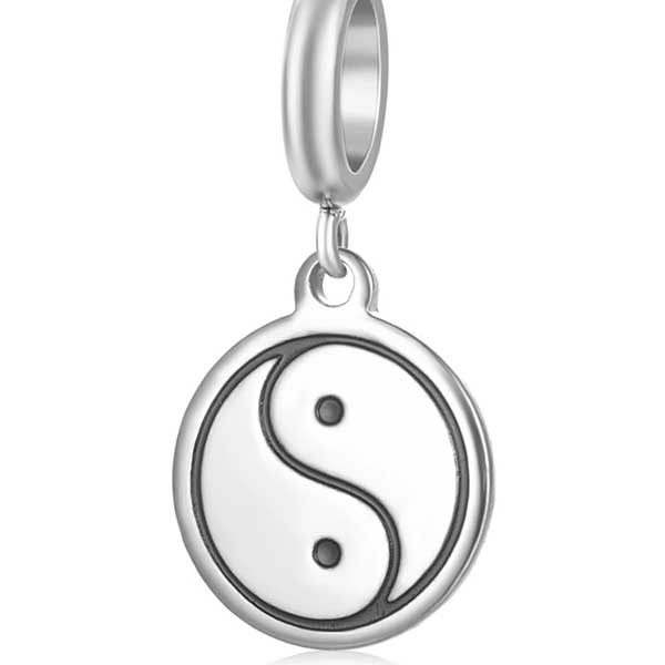 Ying/Yang Charm to add to your Custom Bracelet by Medium Jay Lane