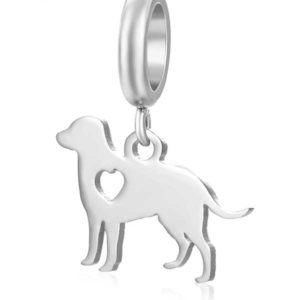 Dog Charm to add to your Custom Bracelet by Medium Jay Lane