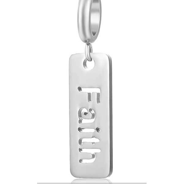 Faith Charm to add to your Custom Bracelet by Medium Jay Lane