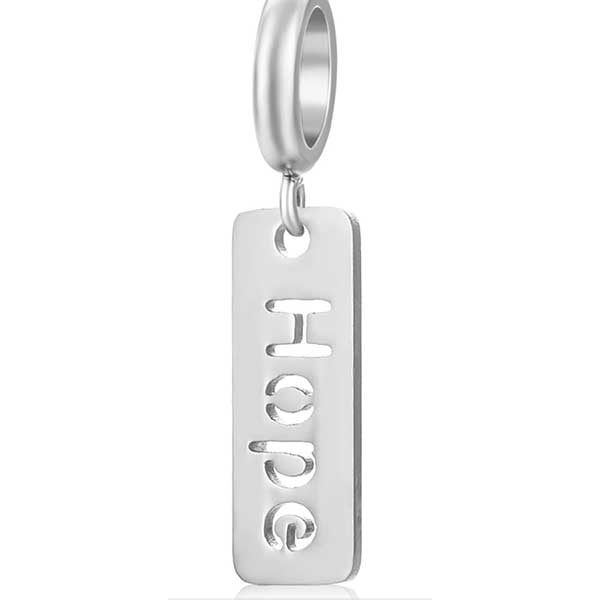 Hope Charm to add to your Custom Bracelet by Medium Jay Lane