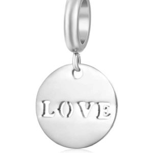 Love Charm to add to your Custom Bracelet by Medium Jay Lane