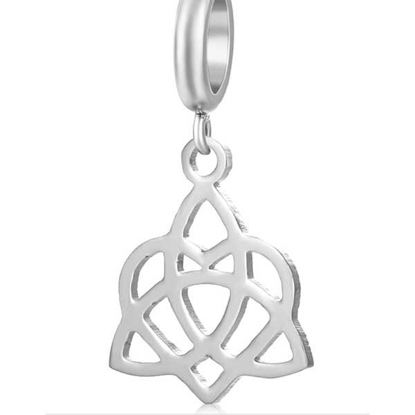 Symbol with Heart Charm to add to your Custom Bracelet by Medium Jay Lane