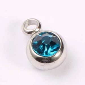 expressions of love December birthstone Turquoise charm by Medium Jay Lane