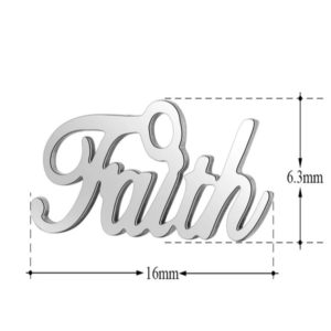 expressions of love faith charm by Medium Jay Lane