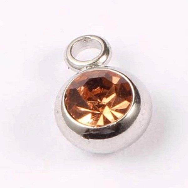 expressions of love November birthstone Topaz charm by Medium Jay Lane