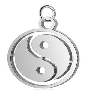 Ying Yang Charm for Expressions of Love bracelet by Medium Jay Lane
