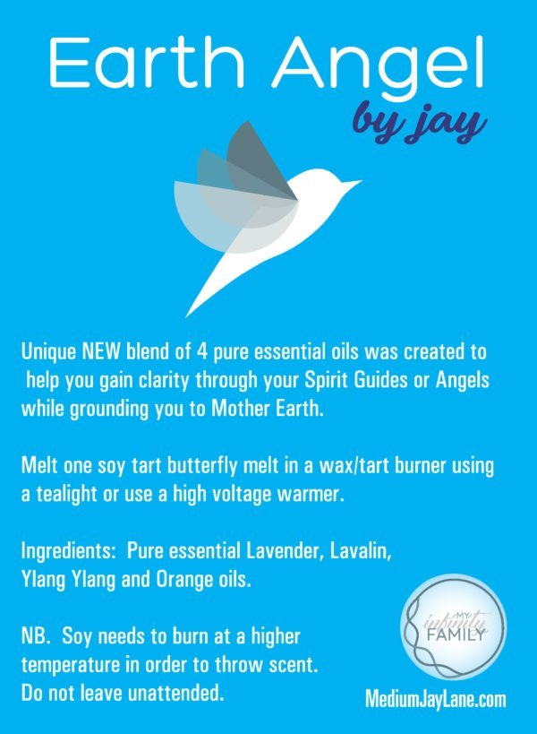 Earth Angel Essential Oil Soy Tart by Medium Jay Lane