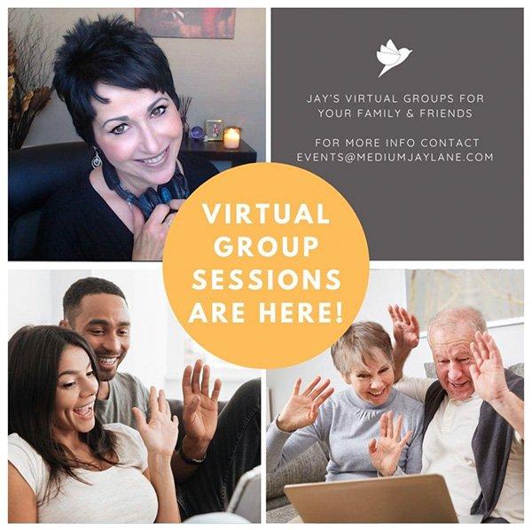 Medium Jay Lane Virtual Group Sessions
